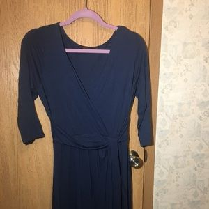 Navy blue dress from the Limited